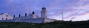 lizard lighthouse at dawn