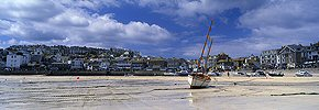 summer at st ives harbour