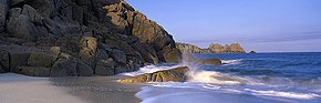 tides of porthcurno