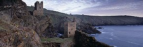 tin mines and skies, botallack