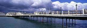 cloud front over worthing pier