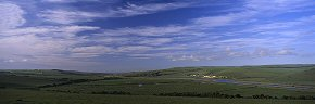 cloud over the cuckmere valley