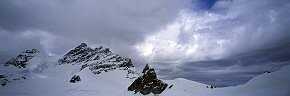 clouds above the sphinx and jungfrau