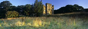summer dawn at hylton castle