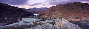 before dawn in snowdonia