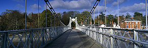 queens park bridge, chester