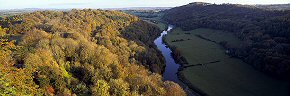 autumn at symond's yat rock