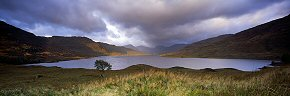 dawn at loch arklet