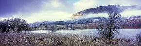 freezing cloud at loch lubhair