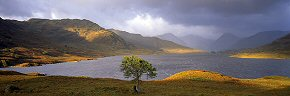 glimpse of light, loch arklet