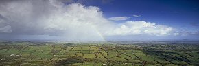 herefordshire rainbow over golden valley