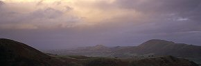 stormy evening on the long mynd