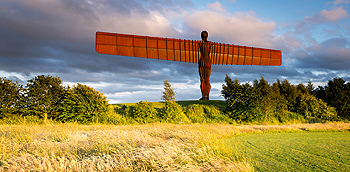 angel of the north light card