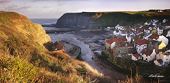 staithes cliff card