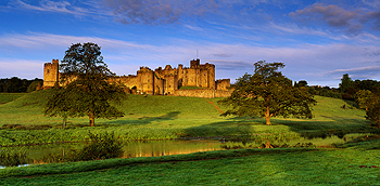 alnwick castle card