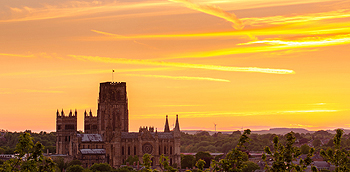 durham sunset card