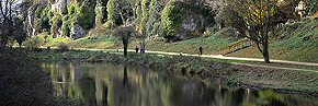 reflections, creswell crags