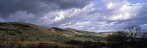 clouds over hope valley, derbyshire